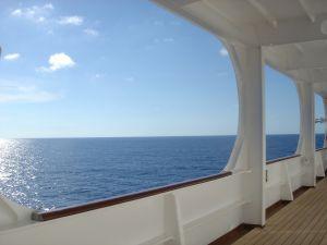 Sun Princess promenade deck
