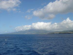 Martinique coastline