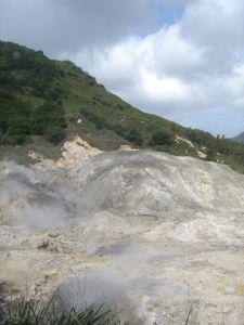 St.Lucia Drive-In Volcano