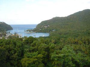 Hurricane Hole in St. Lucia