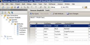 SimpleDB in Visual Studio