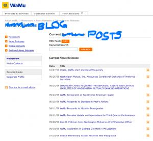 WaMu Blog