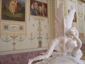 Cupid and Psyche - St Petersburg Russia