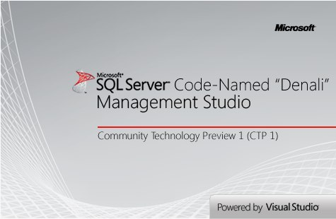 SQL Server Denali (2011) Management Studio
