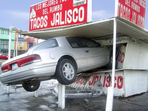 Lemme borrow your car to get tacos - yeah, of course I'm a good driver.