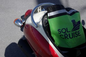 SQLCruise swag bag in Key West